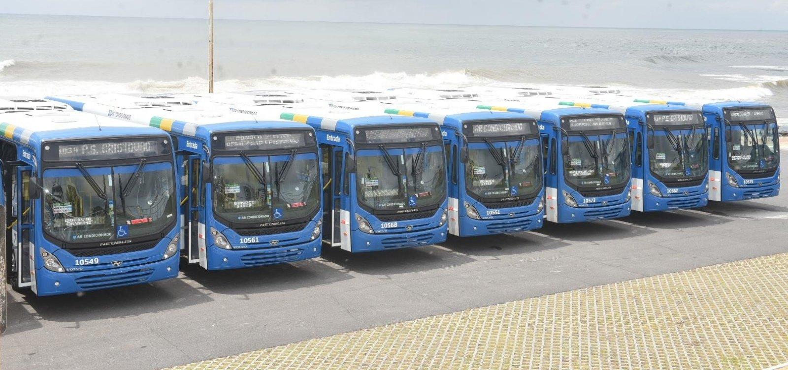 Salvador ganha novos ônibus com ar-condicionado nesta terça