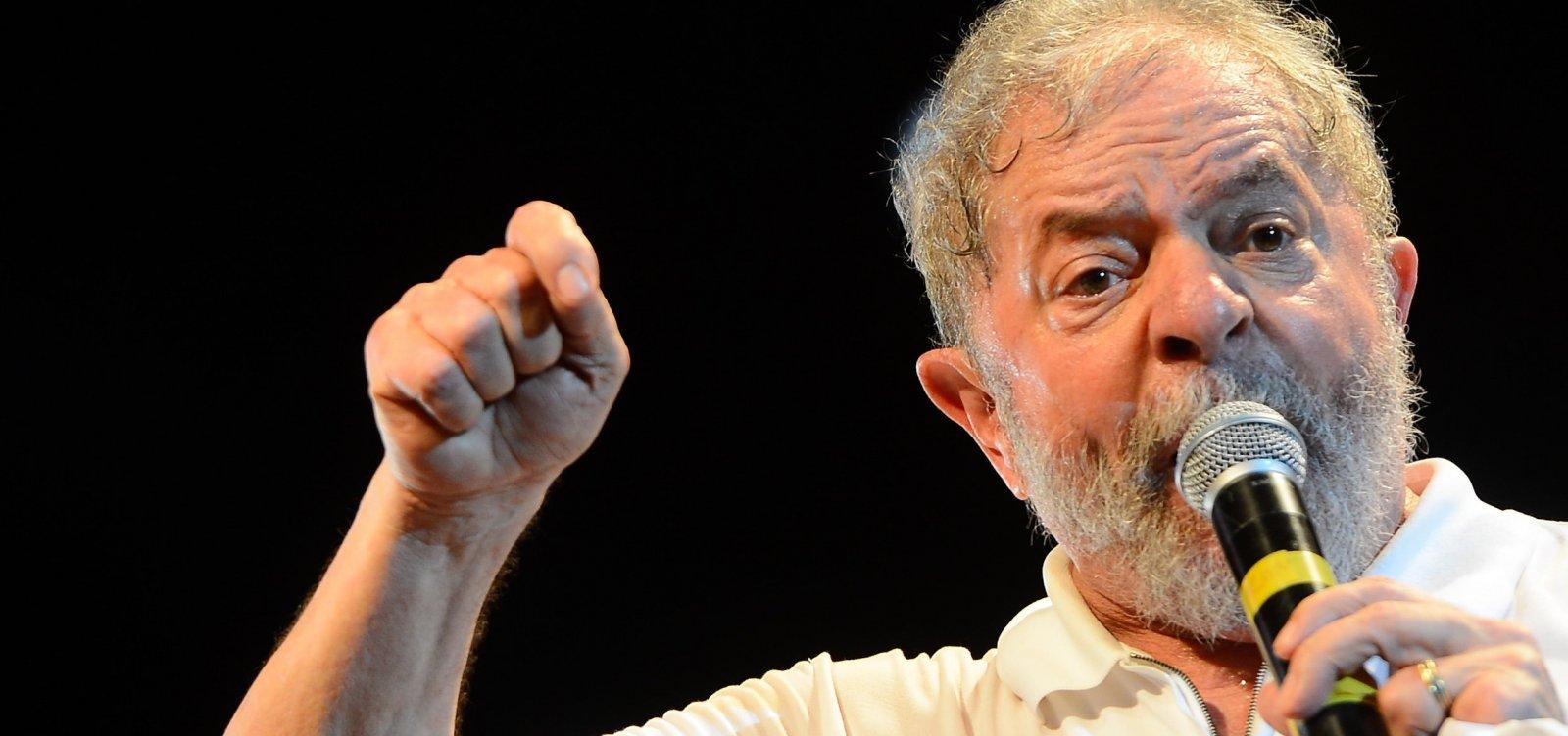 Lula defende candidaturas de novas lideranças e sugere anistia de dívidas do Fies