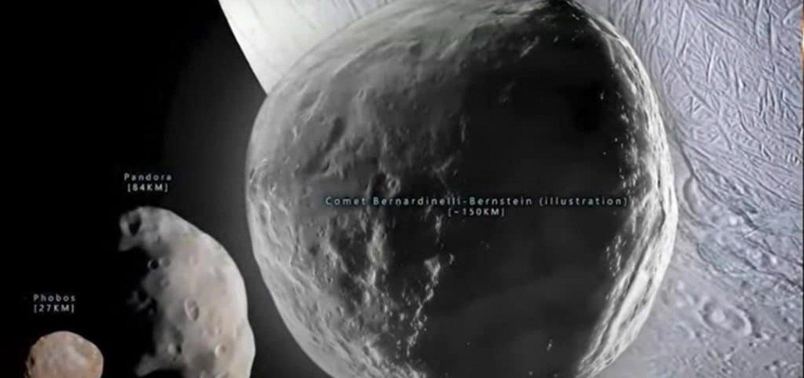 Maior cometa já observado passa a viajar na direção da Terra