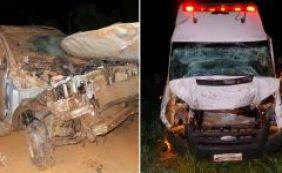 Após ser socorrida por ambulância, mulher se envolve em 2º acidente e sobrevive