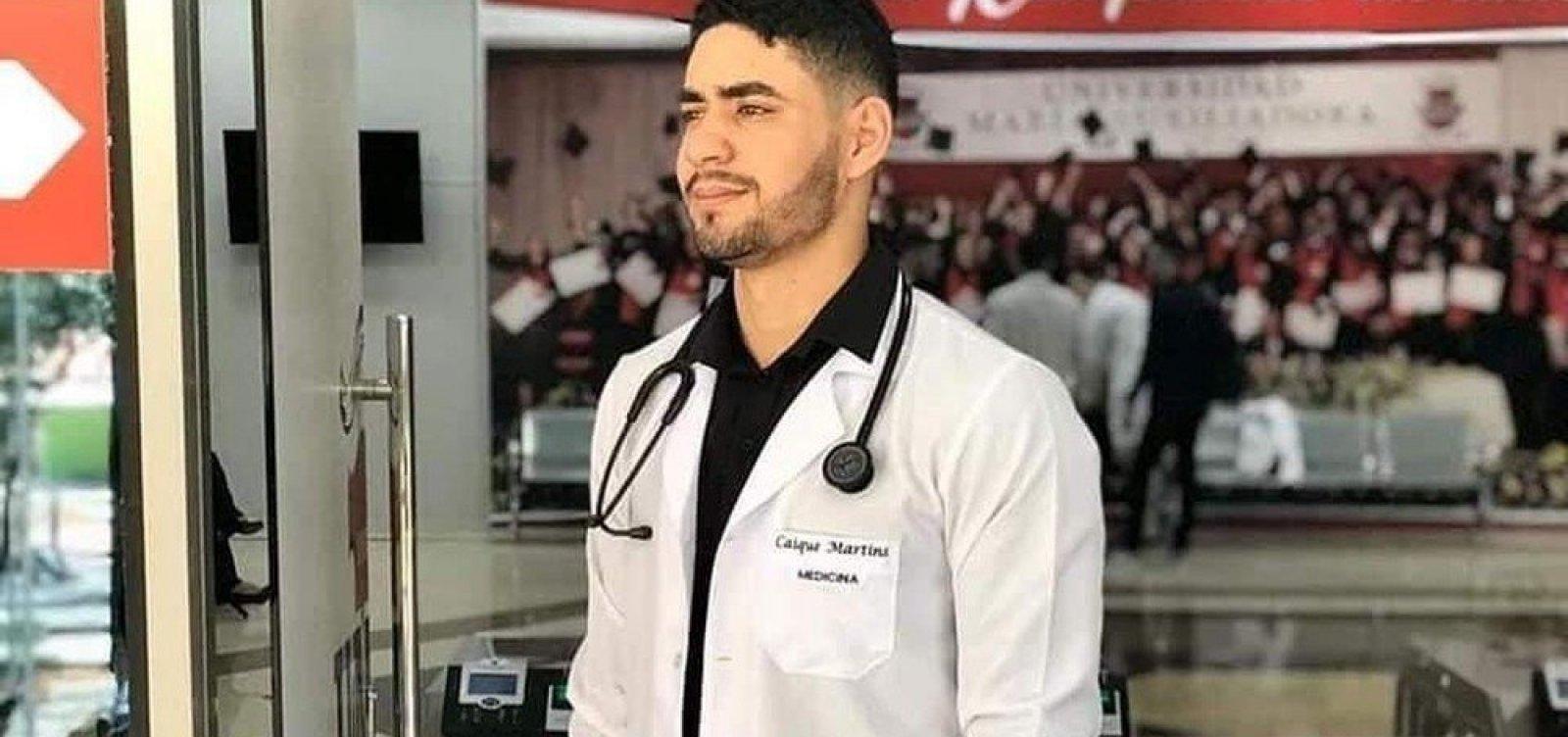 Suspeito de matar estudante de medicina a facadas é preso no norte da Bahia