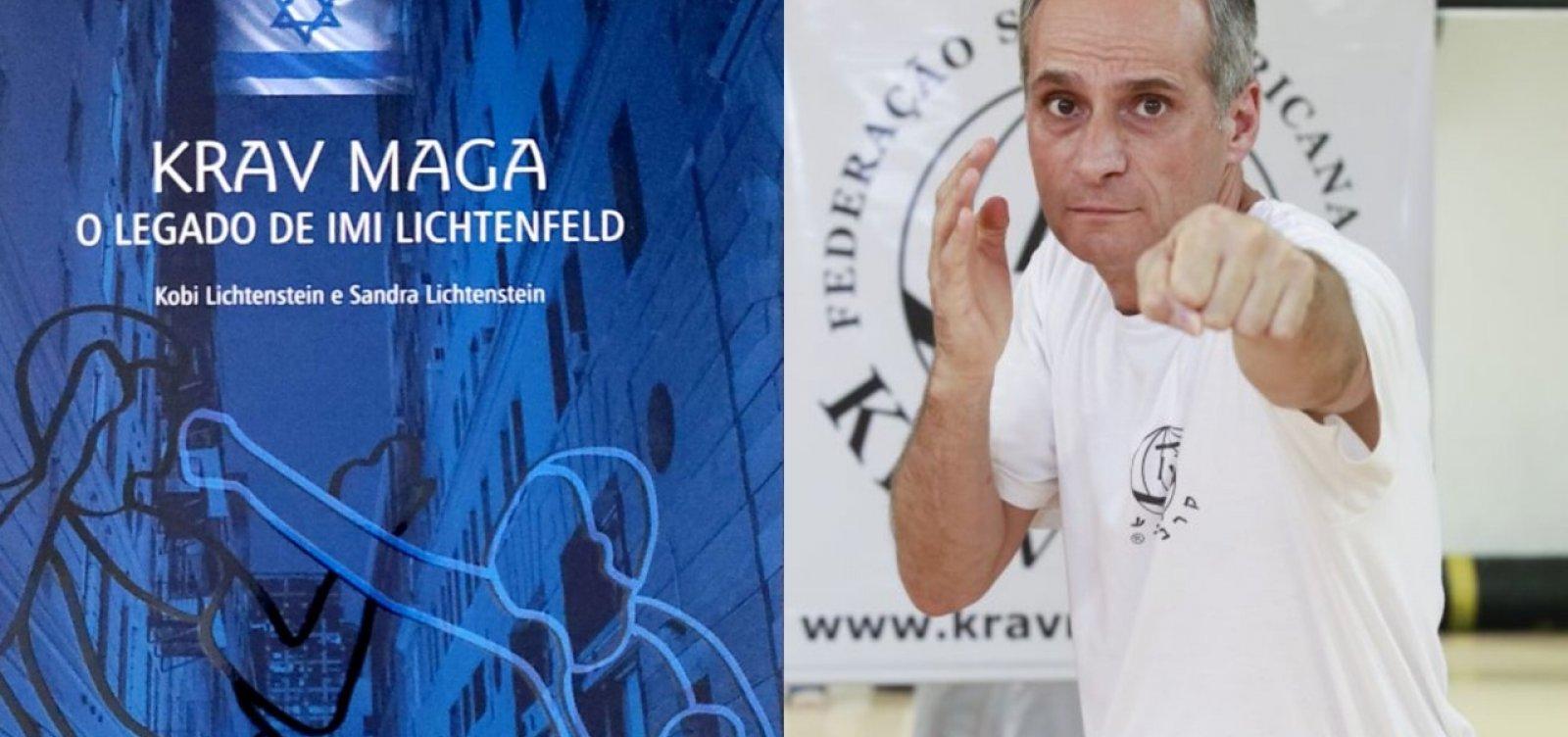 Israelense que trouxe o Krav Maga para o Brasil vem a Salvador para noite de autógrafos