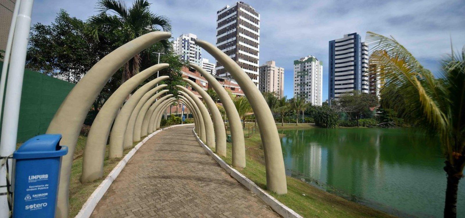 Parques públicos de Salvador voltam a abrir aos domingos a partir deste fim de semana