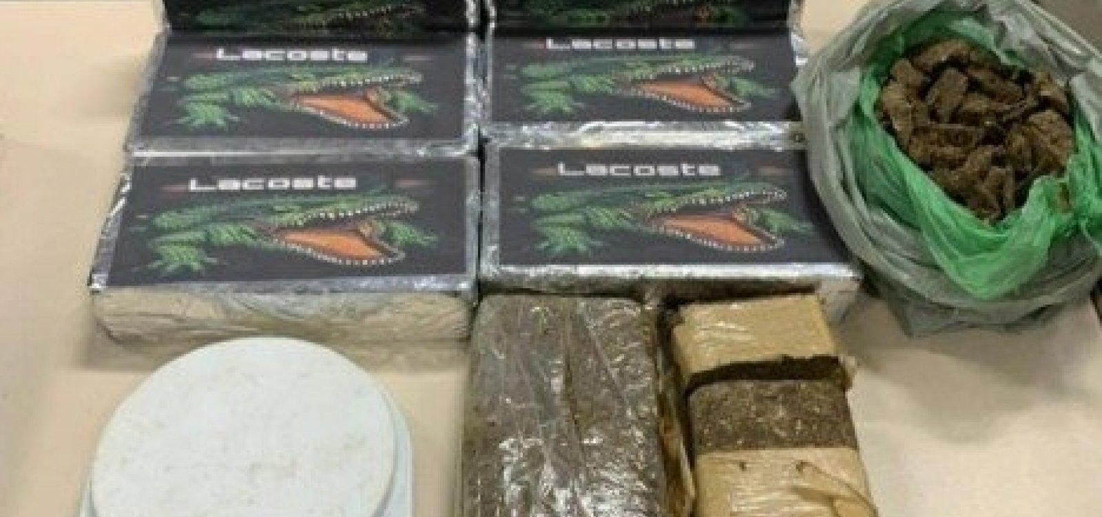 Bola murcha: Professor de escolinha de futebol é preso por tráfico de drogas