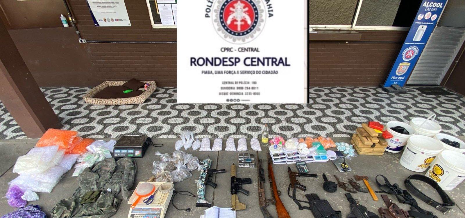 Governador quadruplica valor de prêmio pago a policias por apreensão de armas