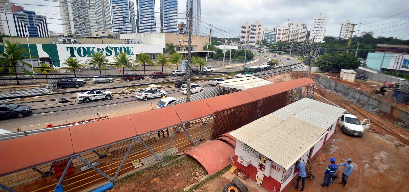 Obras provocam bloqueio por duas noites em trecho da Ligação Iguatemi-Paralela (LIP)