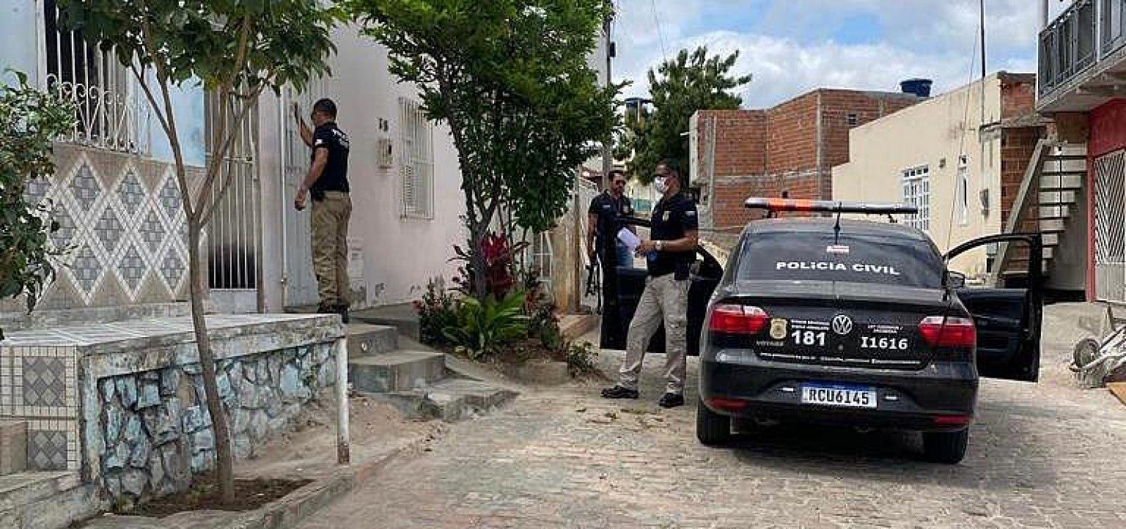 Operação policial no interior baiano prende mais sete pessoas