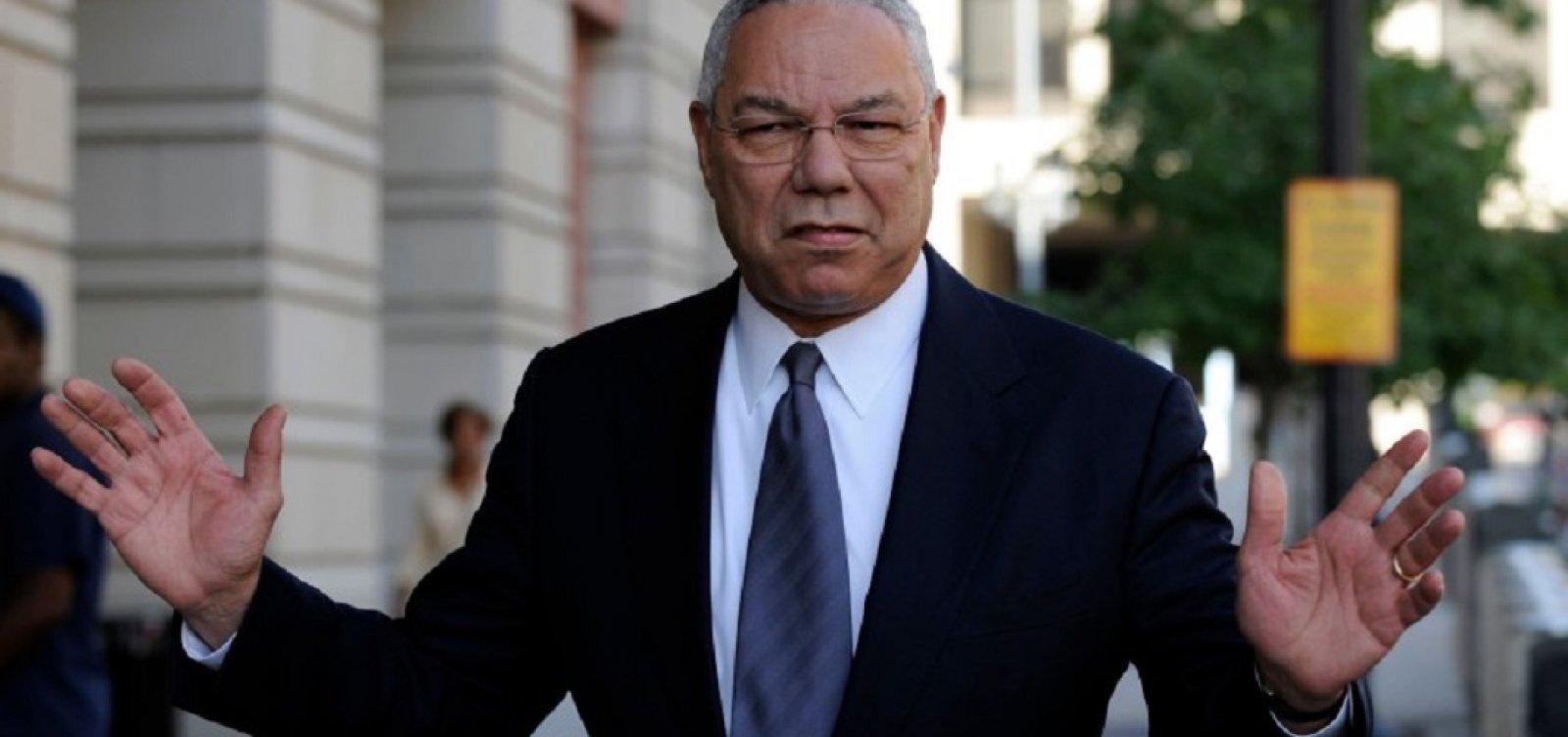 'Secretário da guerra' nos governos Bush, Colin Powell morre aos 84 por complicações da Covid