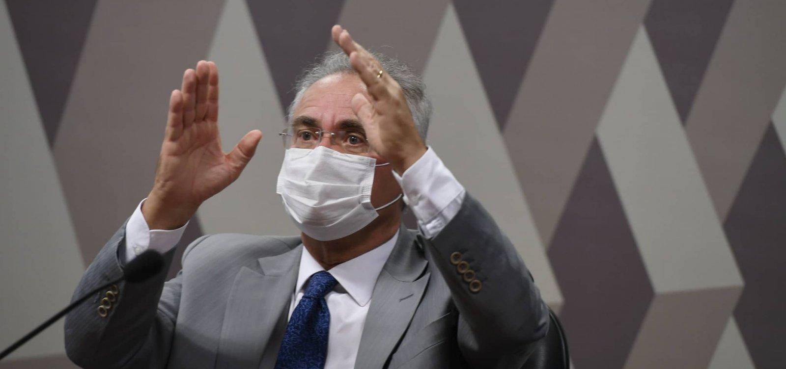 """""""Relatório da CPI está pronto há 2 meses. Teria que vazar mesmo"""", diz Renan Calheiros"""