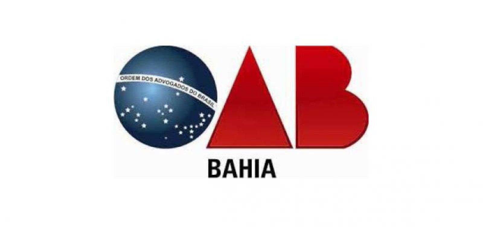 Mais de 40 horas após crime envolvendo advogado, OAB-Bahia ainda não se pronunciou sobre o caso
