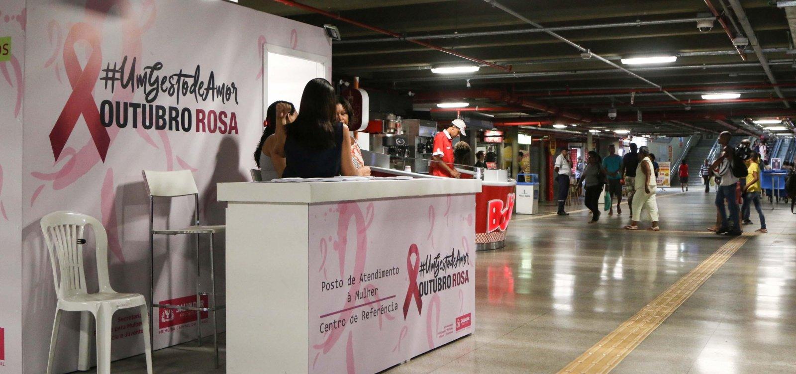 Outubro Rosa: Salvador convoca população trans para exames preventivos contra câncer