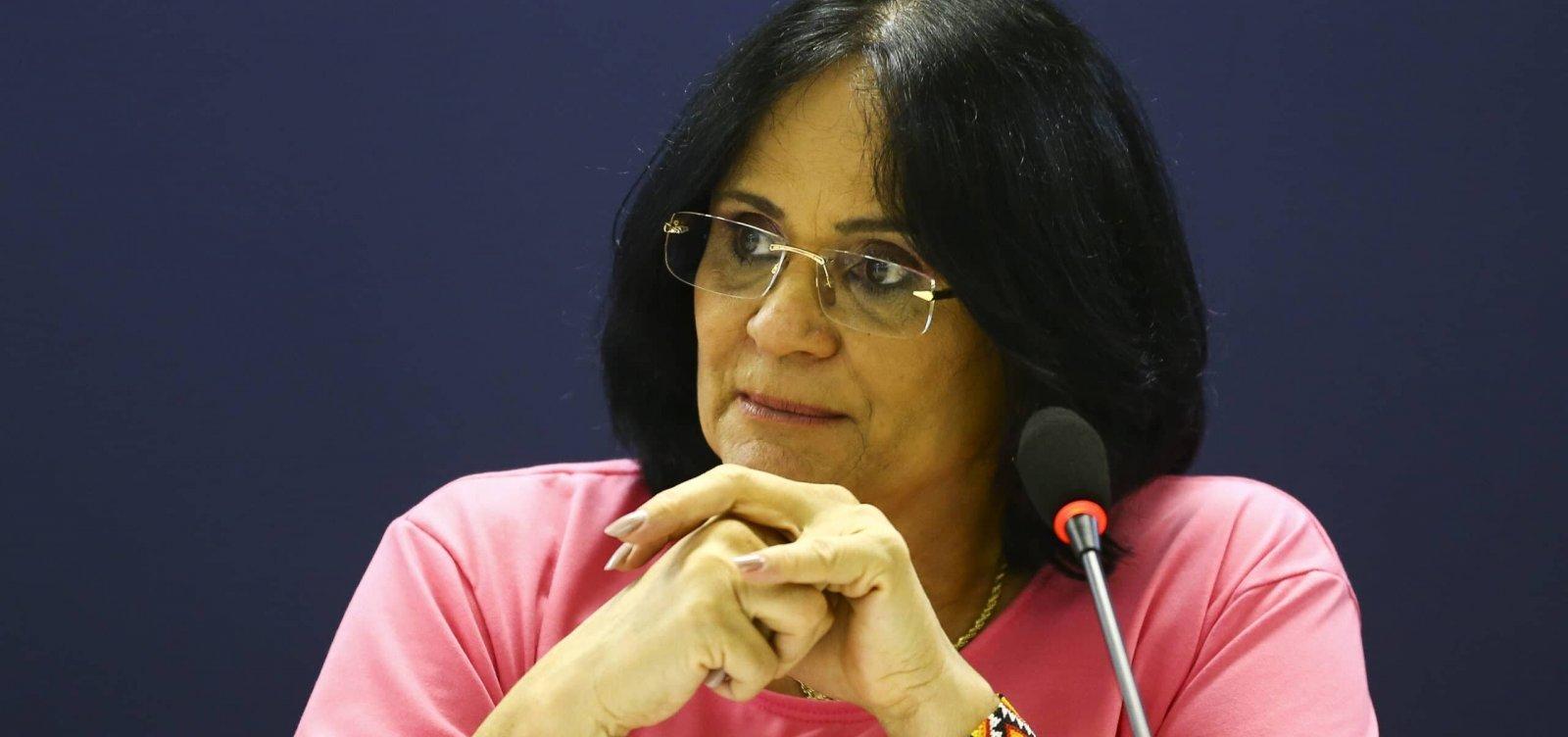 MPF investiga ministério de Damares por gasto de apenas 44% da verba prevista
