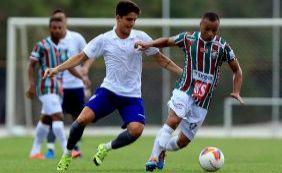 Bahia goleia Fluminense por 4x0 em jogo treino no Fazendão
