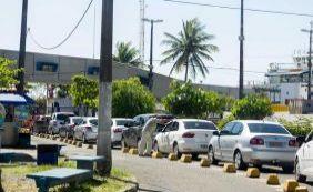 Motoristas encontram fluxo intenso no Ferryboat em Bom Despacho