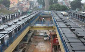 Estação da Lapa já tem 80% da obra concluída; entrega é remarcada