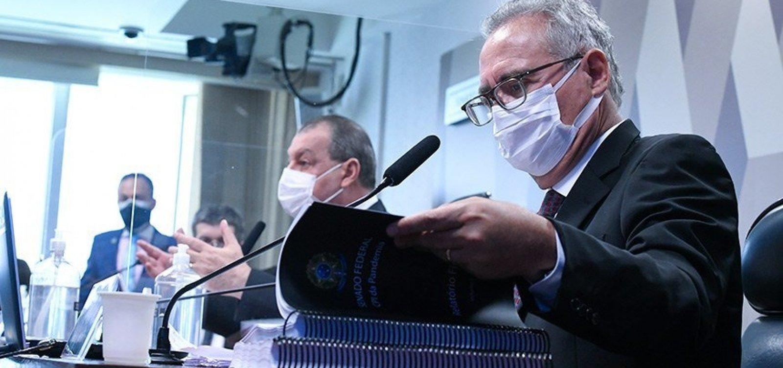 Relatório da CPI é oficialmente apresentado com nove crimes atribuídos a Bolsonaro