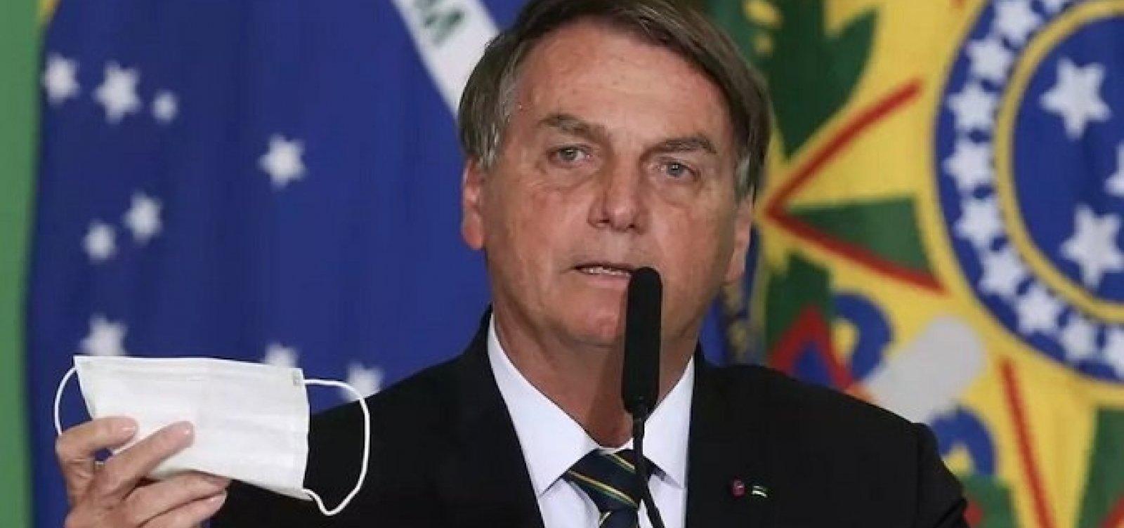 Acusado por 9 crimes em CPI, Bolsonaro volta a desdenhar de vacina e exalta 'kit Covid'