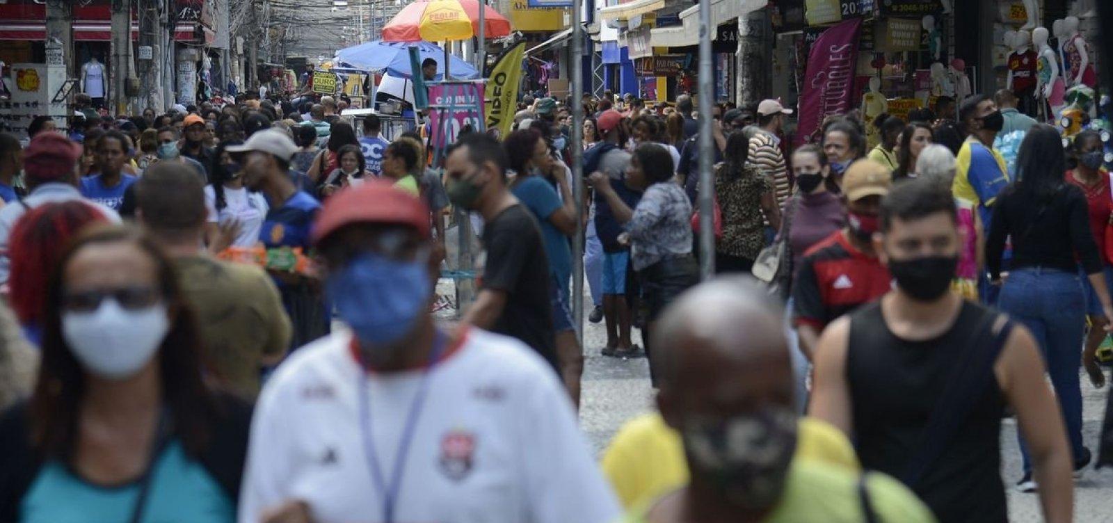 Brasil chega a 605 mil mortes depois de registrar 460 óbitos por Covid em 24h