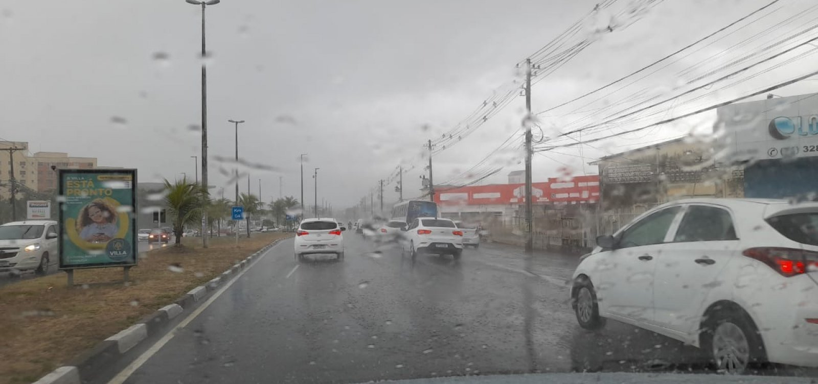 Tempo chuvoso em Salvador deve durar até domingo; veja previsão