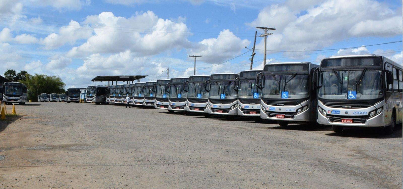 Feira de Santana tem parte da frota de ônibus paralisada neste sábado