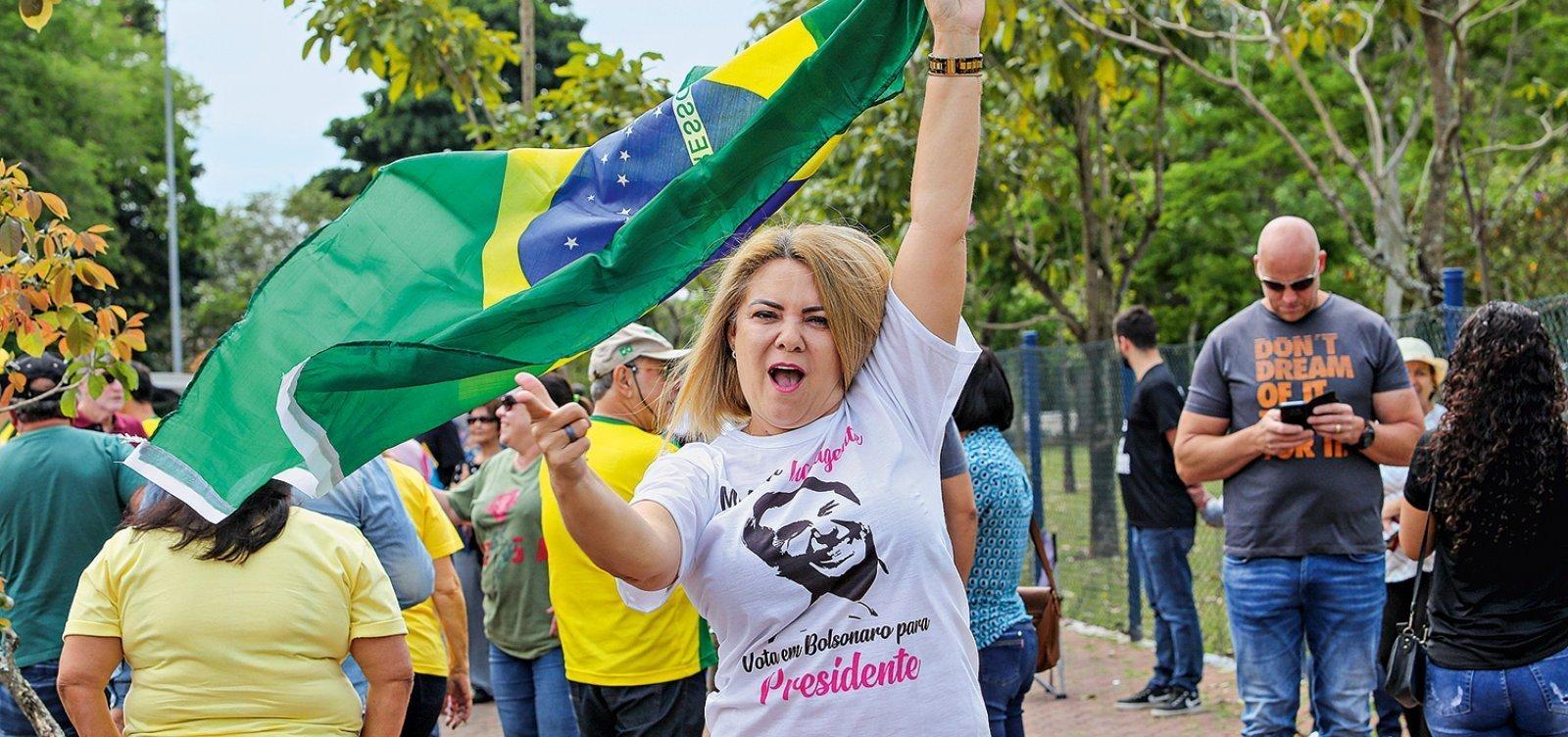 Empresas de ex-mulher de Bolsonaro devem R$ 325,5 mil à União