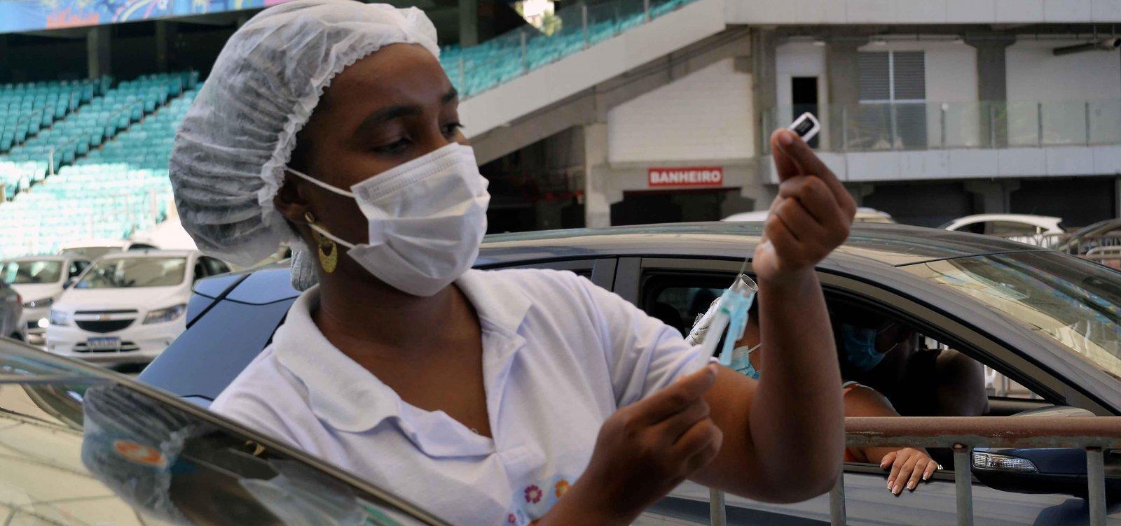 Prefeitura de Salvador realiza Arrastão da 2ª dose nesta segunda-feira (25)