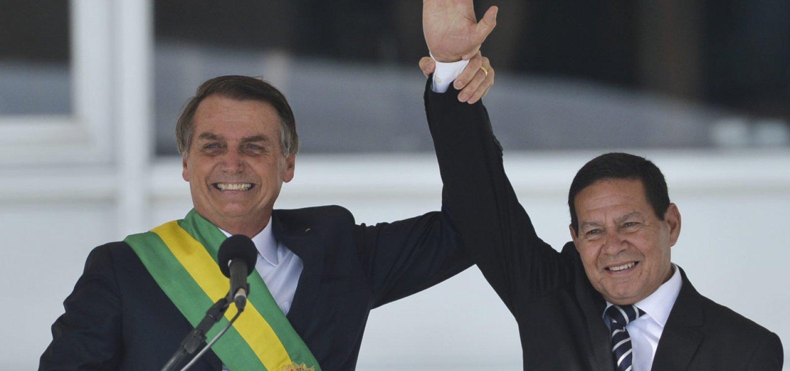 """""""Não vai acontecer nada"""", diz Mourão sobre julgamento de chapa com Bolsonaro no TSE"""
