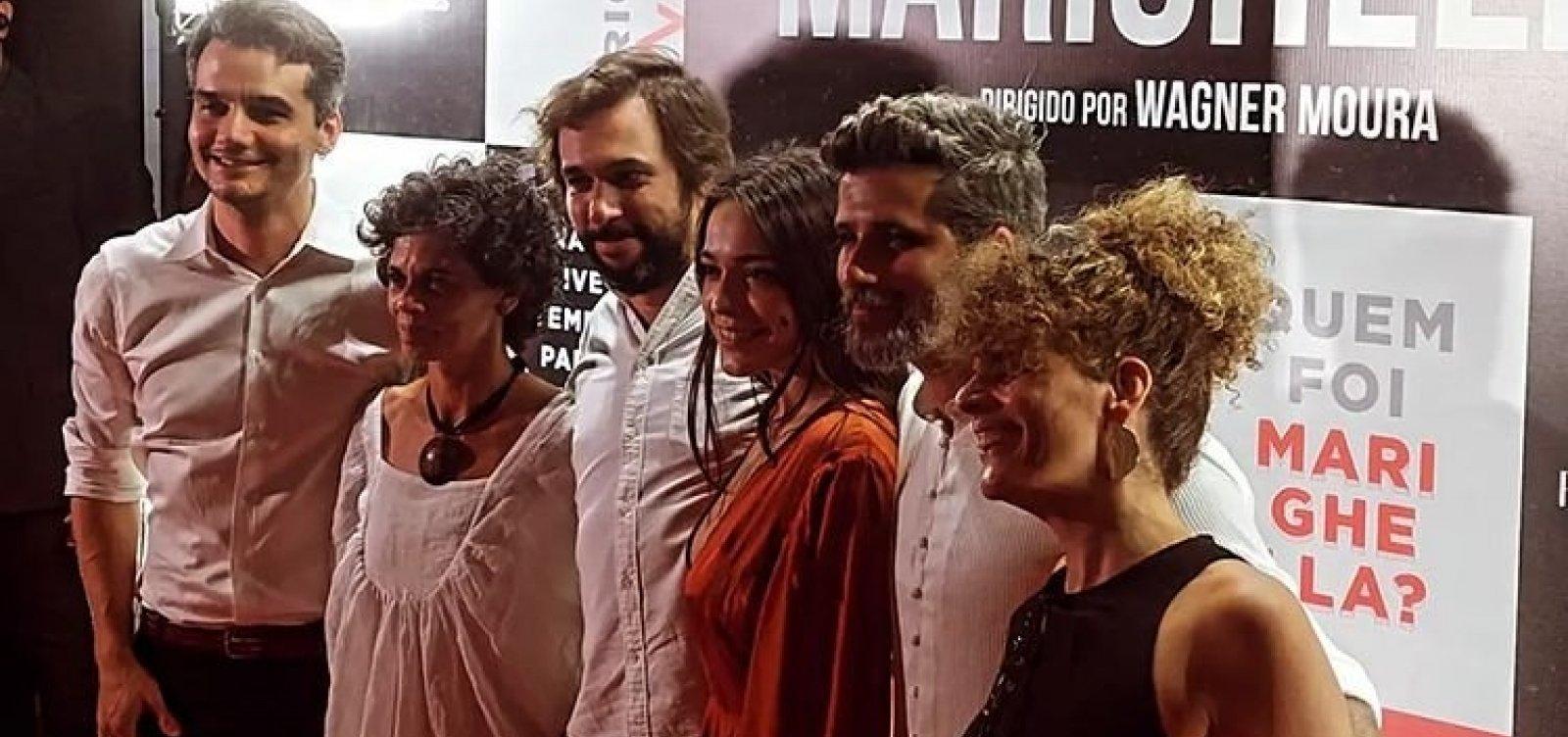 Após embargos, Wagner Moura lança 'Marighella' em evento com filho do guerrilheiro e movimento negro
