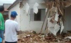 Muro desaba e mata criança de três anos em Ipupiara