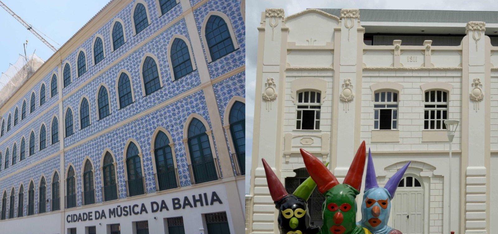 Com único bilhete, público poderá conhecer Cidade da Música e Casa do Carnaval em novembro