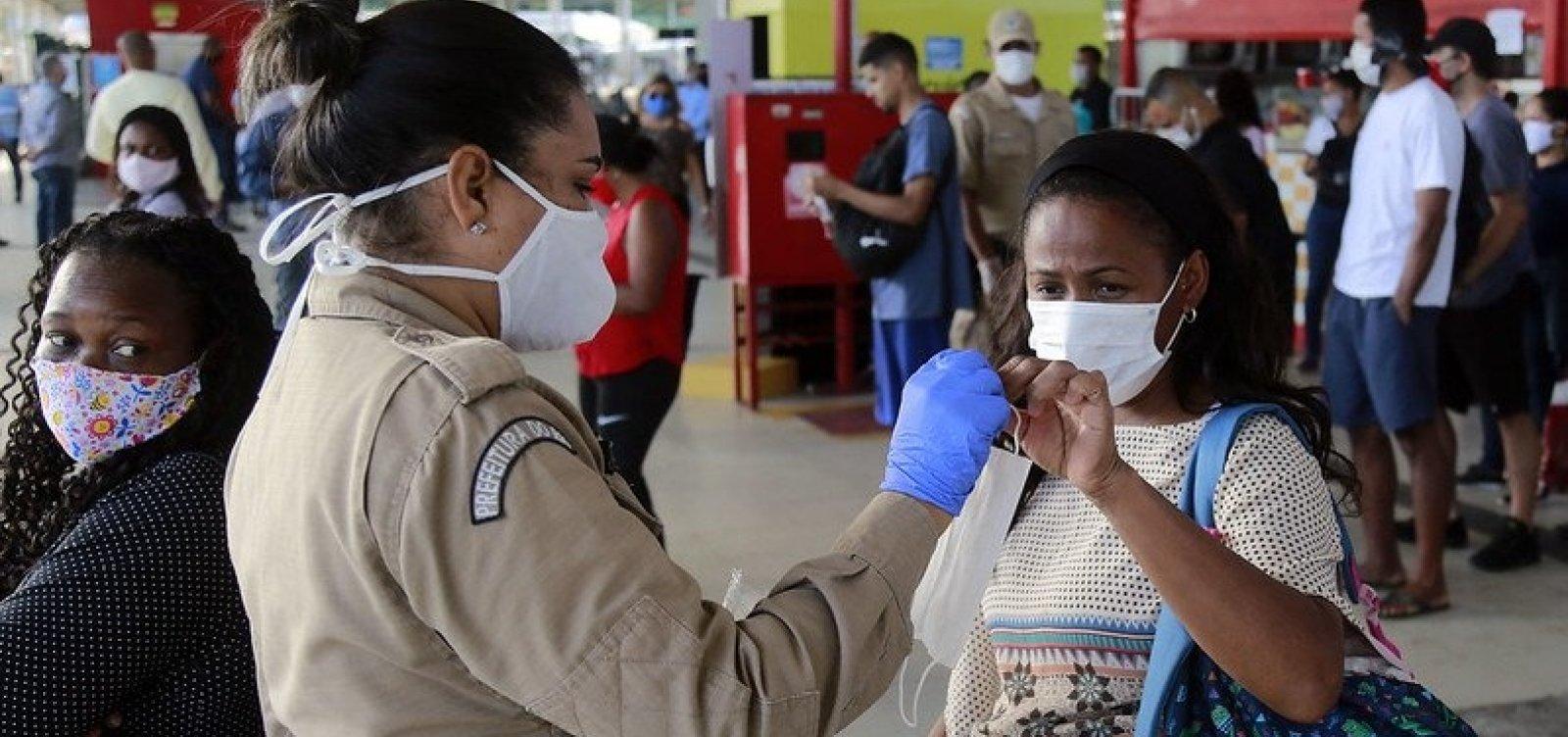 Alerj aprova lei que permite flexibilização do uso de máscaras no Rio de Janeiro