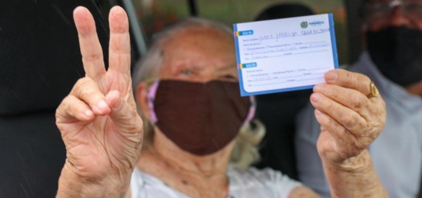 Vacinação contra Covid em Salvador terá mutirão da terceira dose nesta quarta
