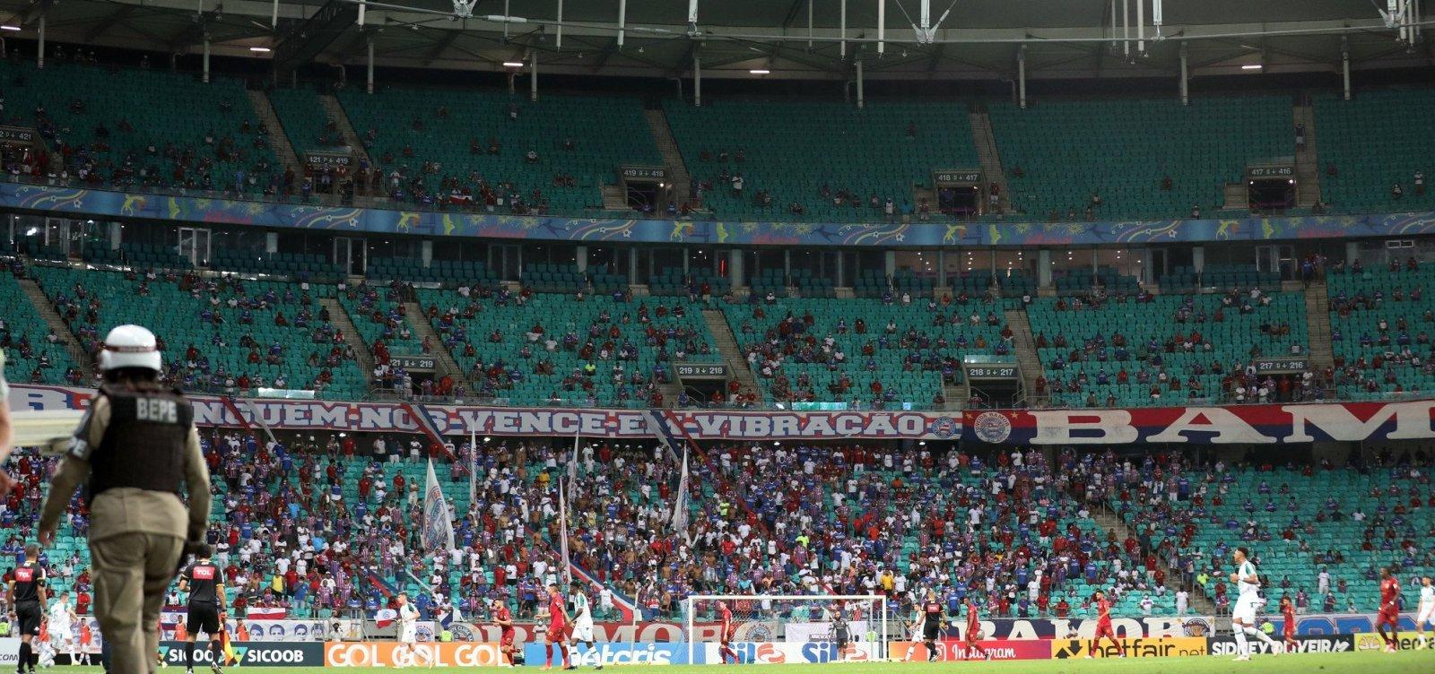 Decreto que amplia capacidade de público nos estádios para 50% vale a partir desta quarta-feira