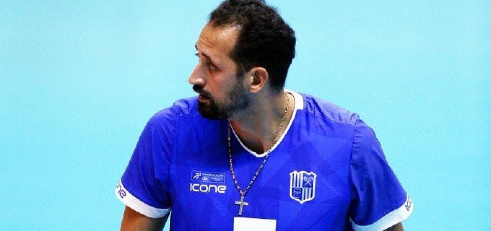 Jogador da seleção, Maurício Souza foi afastado do Minas Tênis Clube após postagem homofóbica