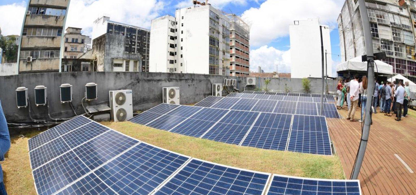 Bruno Reis envia à Câmara programa com incentivos fiscais a empresas que adotarem energia solar