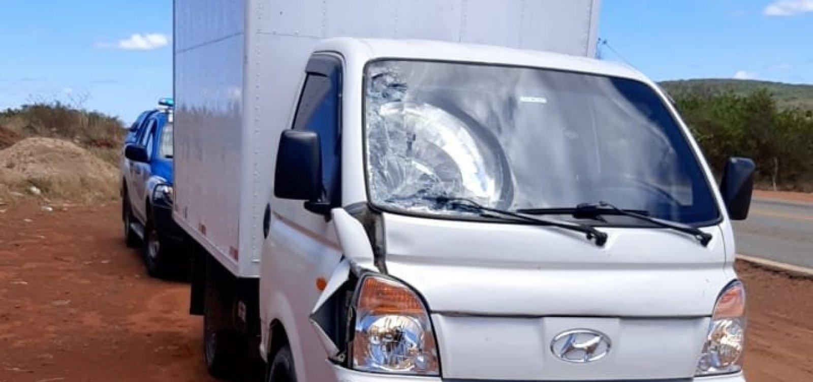 Motorista de caminhonete é preso após atropelar idoso e fugir em Guanambi