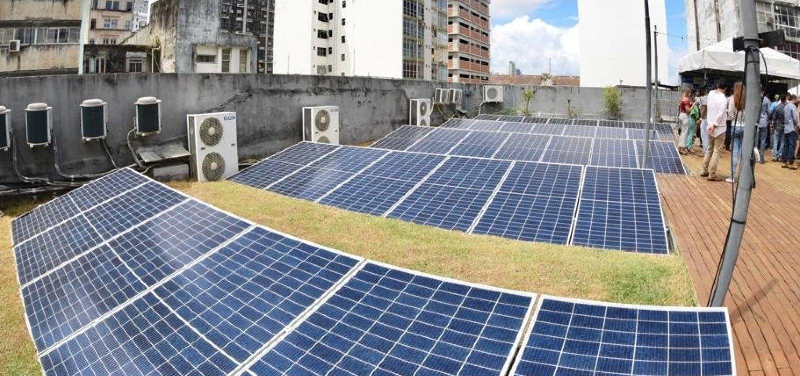Programa prevê redução de IPTU para empresas que adotarem energia solar em Salvador