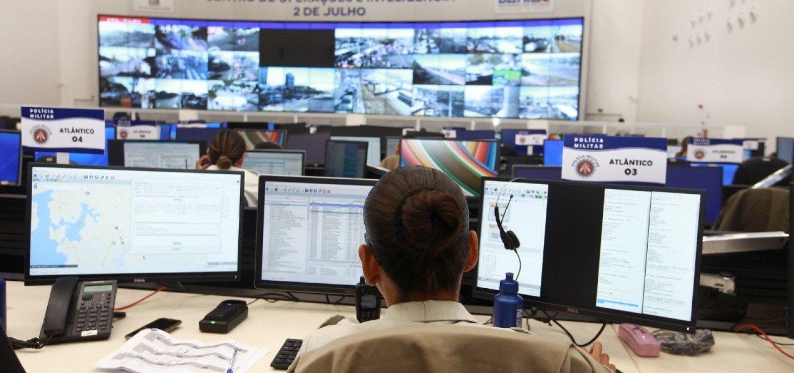 Governo investe R$ 91 milhões em unidades policiais e em tecnologia de videomonitoramento