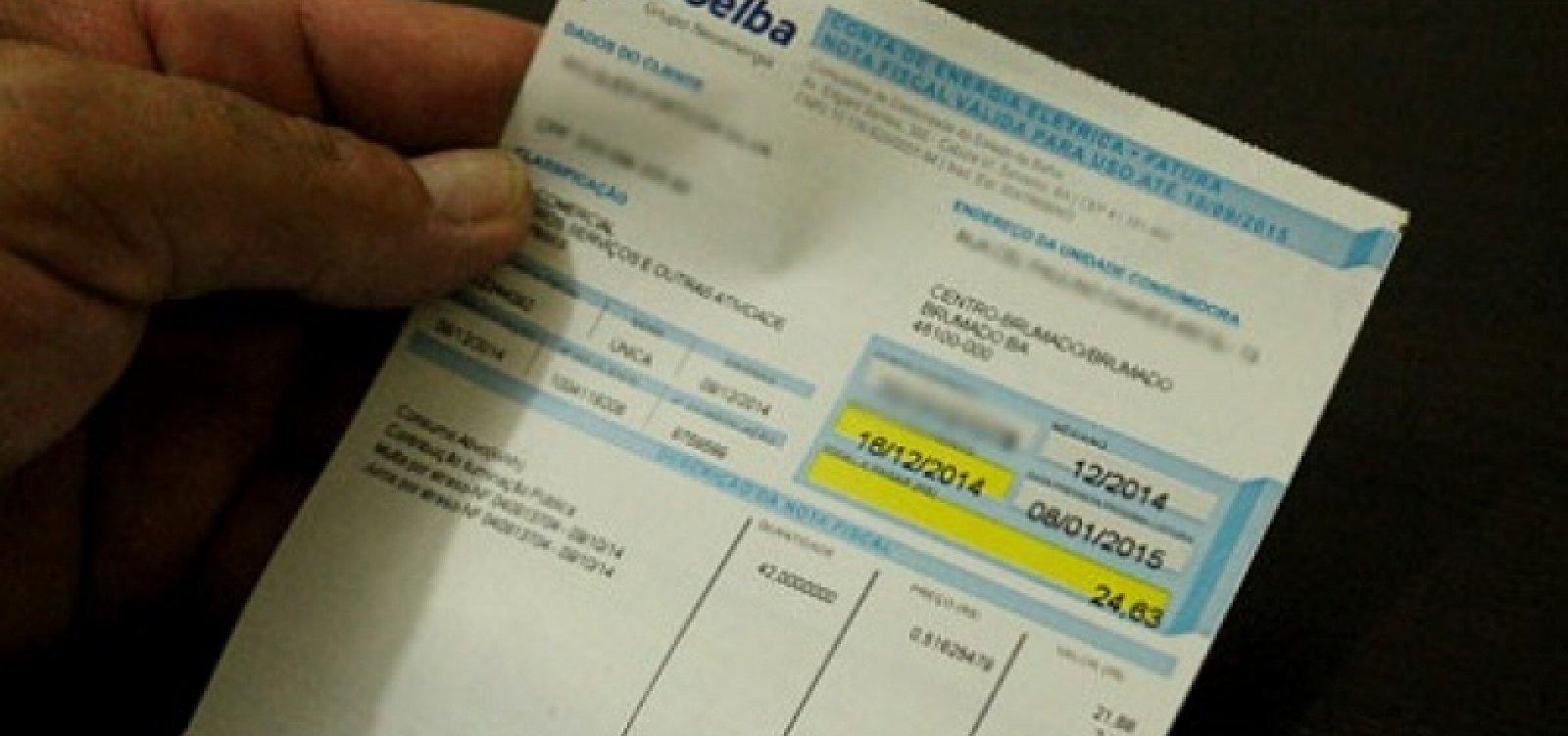 Coelba zera juros e multa para clientes da tarifa social em campanha de negociação de débitos