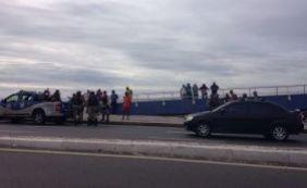 Homem é baleado e detido em tentativa de assalto no Costa Azul