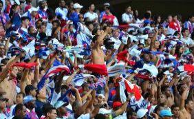Em amistoso preparatório, Bahia recebe o Santos na Arena Fonte Nova
