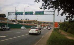 Avenida Paralela terá trânsito alterado por conta de obra do metrô; confira