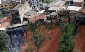 Deslizamento: governo e prefeitura de só executam 4% de recursos do PAC