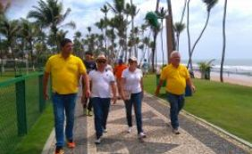 Verão da Gente: Prefeitura de Lauro de Freitas percorre orla neste domingo