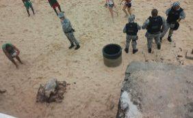 Tartaruga morta é encontrada em praia do Porto da Barra
