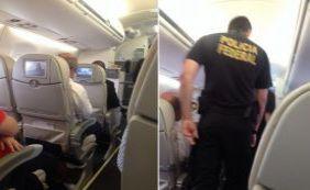 Após confusão, homem é retirado de voo pela Polícia Federal