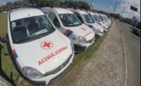 Sesab entrega 20 novas ambulâncias nesta quarta-feira