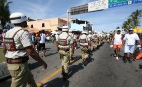 Segurança: Lavagem de Itapuã contará com quase 500 policiais militares