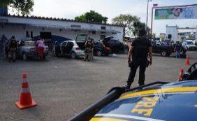 Polícia realiza operação de combate às drogas no terminal marítimo