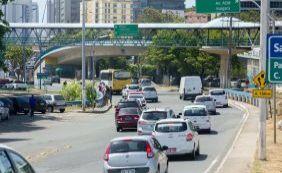 Motoristas enfrentam engarrafamento na Avenida ACM e região; confira o trânsito